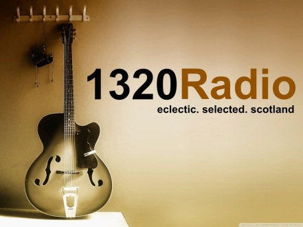 1320 logo guitar retro