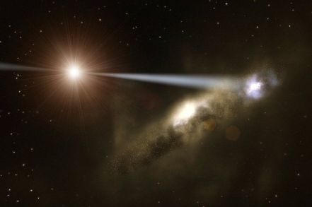 ESO-Black-Hole-Quasar-Galaxy